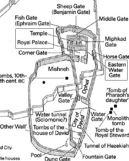Antonia Fortress And The Temple In Jerusalem