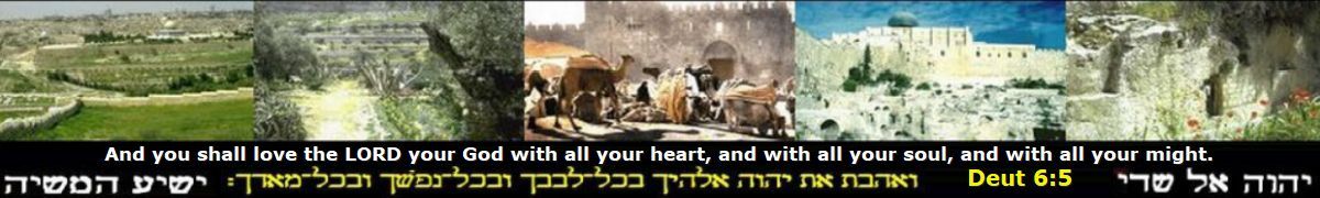 Jerusalem's gates spiritual meaning the western wall Bible